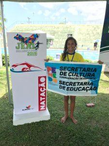 Aluna de escola da Prefeitura de Penedo se classifica para Jogos da Juventude